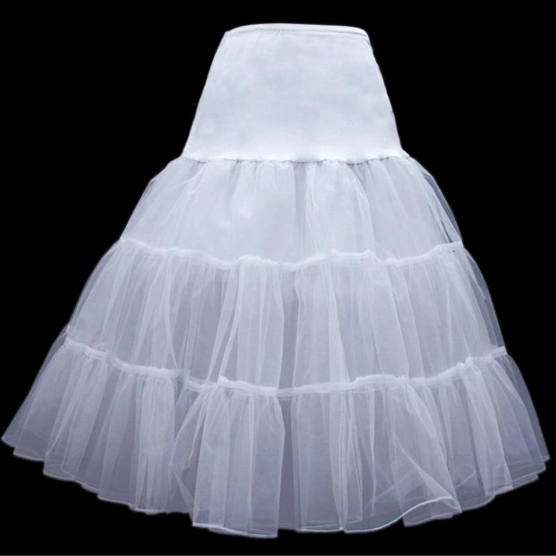 Short Organza Petticoat Crinoline Vintage Wedding Bridal Petticoat For Wedding Dresses Underskirt Rockabilly