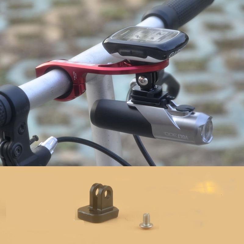 Адаптер для крепления велосипесветильник Cateye Volt 300 400, подключение к компьютеру Garmin Byton с адаптером для камеры Gopro