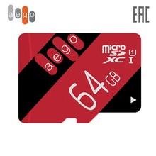Карта памяти AEGO 128 64 32 16 8ГБ  U1 Class 10 microSDXC (без адаптер)