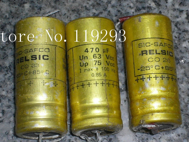 [BELLA]SIC <font><b>SAFCO</b></font> France axial enthusiast 470UF63V75V volume 18 * 41 in stock wholesale--20pcs/lot
