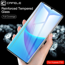 Cafele Curved Full Cover Screen Protector For Huawei P30 pro 9D HD Clear Tempered Glass for huawei p30 Anti blue protection