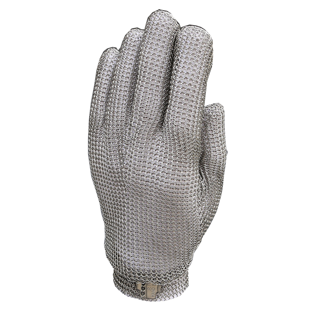 High quality Glove 304L Stainless Steel Mesh Knife Cut Resistant Chain Mail Protective Glove for Kitchen