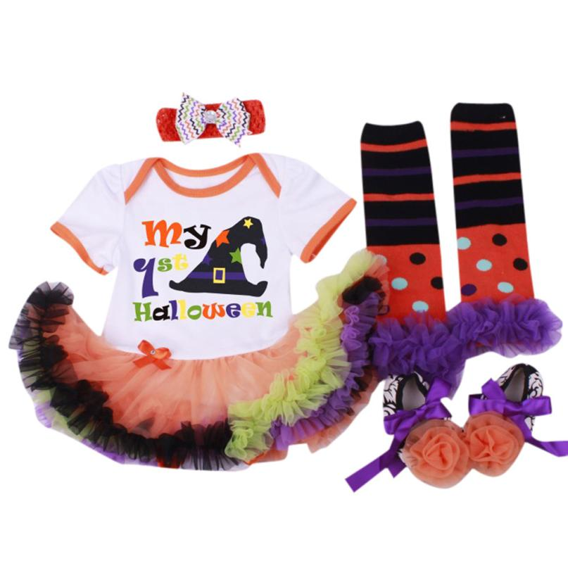 Funny Terror Halloween Clothes Girl Prewalker Dress Hairband Socks Floral Romper Bodysuit Halloween Party Decoration Decora OFunny Terror Halloween Clothes Girl Prewalker Dress Hairband Socks Floral Romper Bodysuit Halloween Party Decoration Decora O
