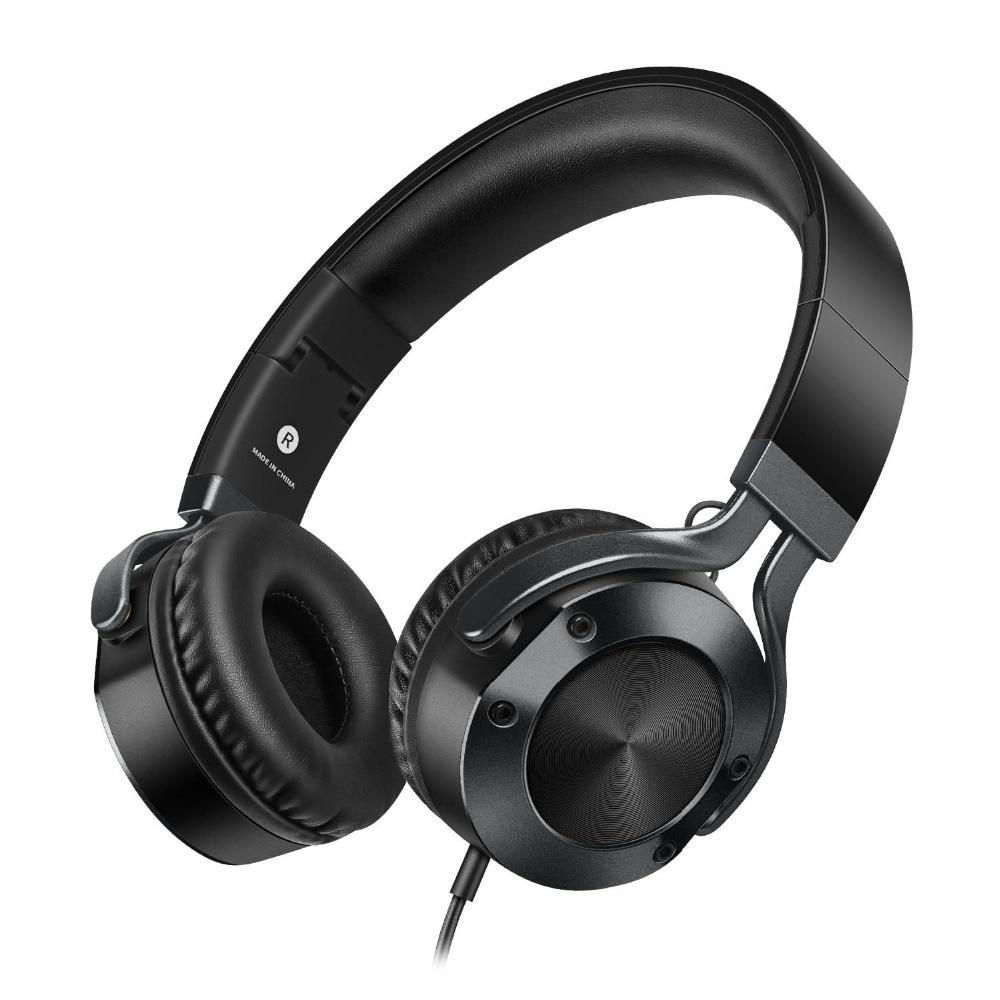 sound intone i9 portable dj headphones strong bass earphone with hd mic hifi music headphone. Black Bedroom Furniture Sets. Home Design Ideas