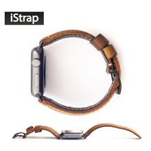 Handmade Assolutamente 24mm Italiy Genuine Leather Watch Strap Link For Iwatch Apple Watch Band 42mm