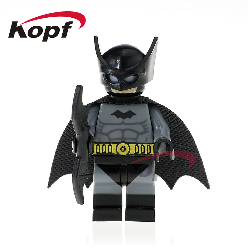Single Sale Building Blocks Super Heroes X-Men Batman Clayface Flash Cowboys America Assemble Bricks Children Gift Toys PG370 batman arkham clayface
