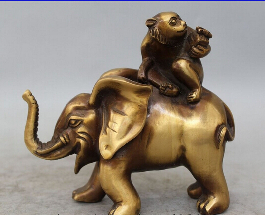 006832 6 Chinese Bronze animal Gift Zodiac Year Monkey Seat elephant Statue sculpture006832 6 Chinese Bronze animal Gift Zodiac Year Monkey Seat elephant Statue sculpture