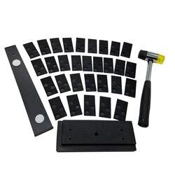Podłogi z drewna zestaw montażowy z przestrzeni i Pull Bar blok gumowy pokój kieruje młotek narzędzia ręczne|Zestawy narzędzi ręcznych|Narzędzia -