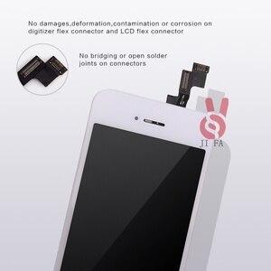 Image 5 - 10PCS כיתה + + + LCD עבור iPhone 5S LCD תצוגת מסך מגע עם digitizer עצרת החלפת Pantalla משלוח חינם DHL