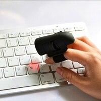 Bluetooth 3.0 עכבר אצבע אלחוטי למחשב מחשב נייד, מיני נייד עכברים אופטיים משחקי משרד AAA מופעלת סוללה