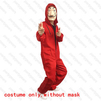 La Casa De Papel Salvador Dali Cosplay Costume Salvador Dali Cosplay Movie Costume