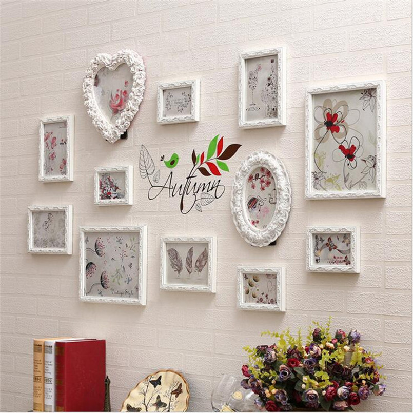 quadro para fotos set vintage picture frames classic picture photo frame small europe photo frames home