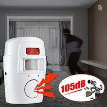 Remote 2 controller infrared alarm safety sensor internal anti-theft alarm system mobile detector wireless alarm monitor стоимость