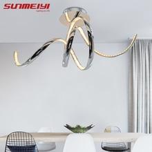Modern LED Crystal  Aluminum Ceiling Lights plafonnier led Living Room Kitchen Bedroom Ceiling Home Lighting luminaria