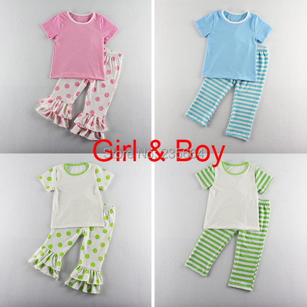Rushed Clothes Kids Minnie Mouse New Baby & Unisex Summer 2pcs Short Sleeve Tops Pants Set Polka Dot Clothing Suit Children