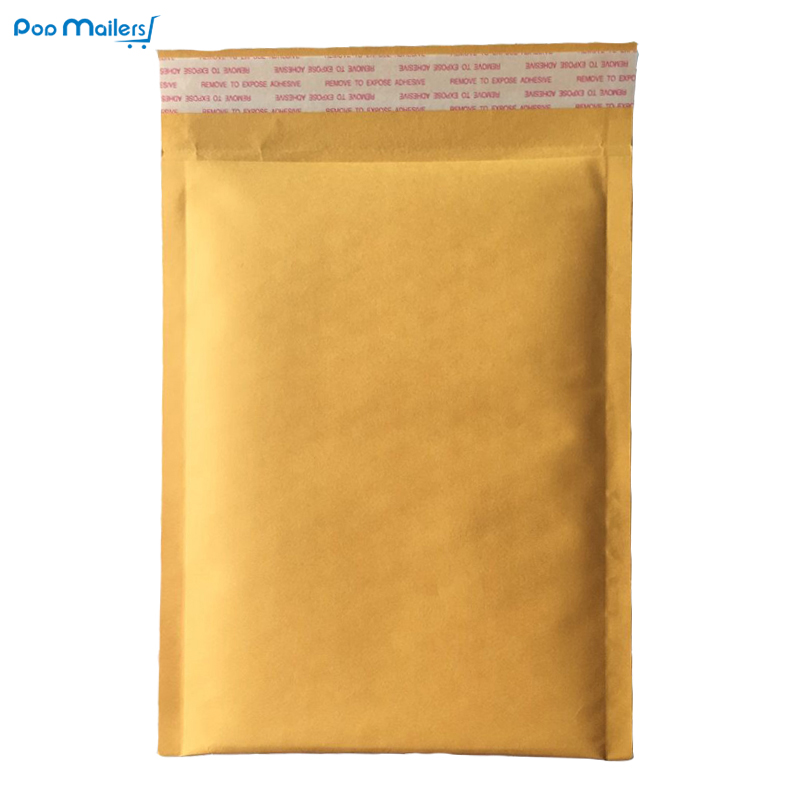 10st 17.5x23cm Kraft Bubble Mailers # 0 Padded Mailers 6x9 Inch Bubble Envelopes