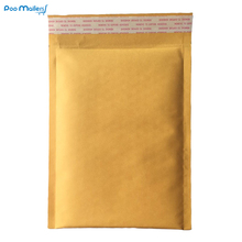 10pcs 18.7x23cm Kraft Bubble Mailers #0 Padded 6.5x9 Inch Envelopes