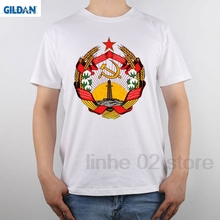 GILDAN Cccp Coat Arms Azerbaijan Ssr t-shirt Men T Shirt