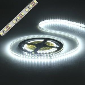 led strip light 3528 600led 5m waterproof IP65 DC 12V 3000K 6500K 8000K white warm white cold white red green blue led tape lamp(China)