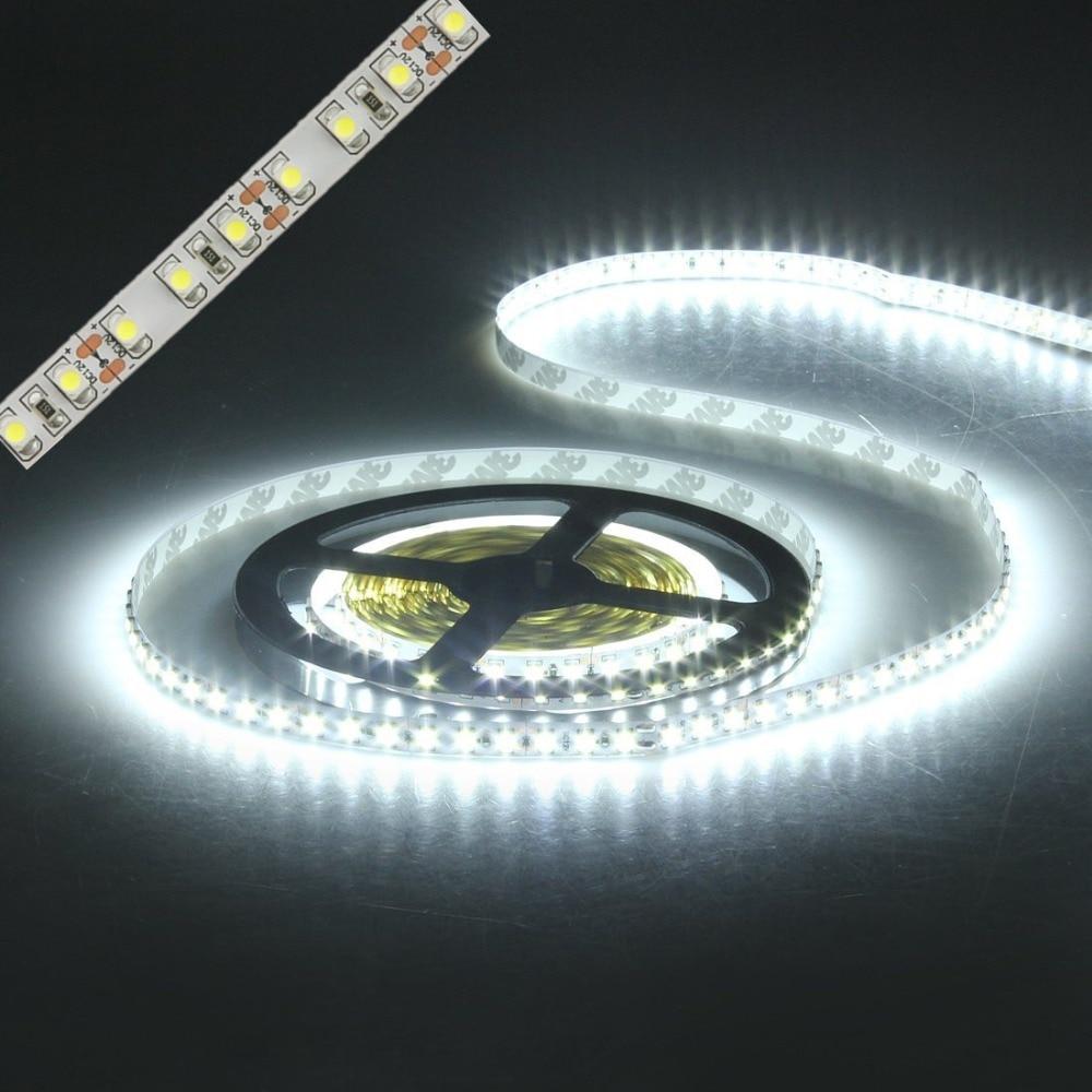 led strip light 3528 600led 5m waterproof IP65 DC 12V 3000K 6500K 8000K white warm white cold white red green blue led tape lamp