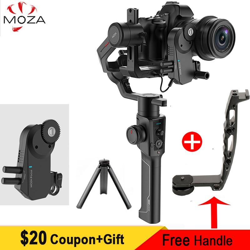 En Stock Moza Air 2 3-Axes De Poche Stabilisateur pour Canon Nikon Sony A7S A7R3 Lumix GH4 DSLR Mirrorless caméras, charge utile 4.2 kg
