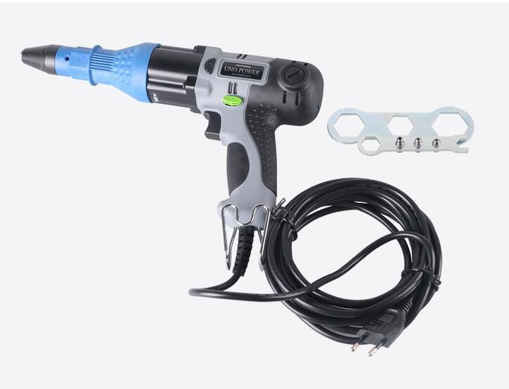 Electric Rivet Gun 220V Blind Riveting Gun Pump Core Electric Riveting Gun Suitable For Aluminum Core Rivets UP-48B