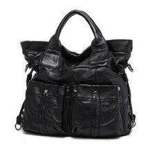 Marke Neue große schultertasche für frau hohe qualität berühmten marken designer frauen handtaschen aus echtem leder tote für Damen LY159