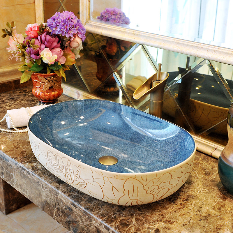 porzellan waschbecken badezimmer-kaufen billigporzellan