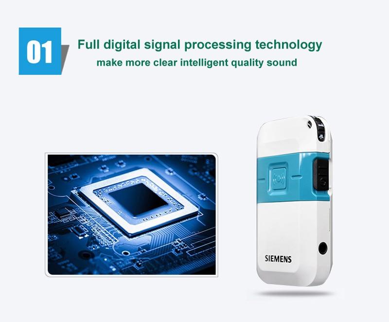 digital signal processing pocket hearing aid