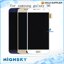 1 piece free shipping+tracking code for Samsung Galaxy s6 lcd G920 G9200 display screen with touch digitizer free tool new test