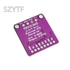 MAX31865 модуль датчика температуры GY-MAX31865 RTD цифровой модуль преобразования электронный DIY доска PT100-PT1000 для Arduino