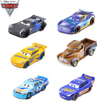 1:55 Disney Pixar Cars 3 Diecast Metal Storm Jackson Lighting McQueen Smokey Alloy Car Toys Kids Christmas Birthdays Gift(China)