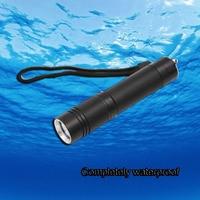 Waterproof Cree Xm L T6 Led Diving Torch 3 Modes Underwater Light 18650 Scuba Lanterna De