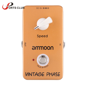 ammoon AP-03 Vintage Phase Phaser Guitar Effect Pedal True Bypass High Quality Guitarra Effect Pedal parallel