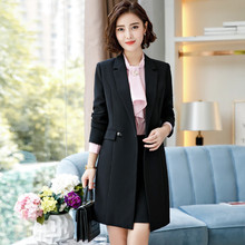 2020 NEW fashion Long-sleeved Spring Autumn OL Long Blazers Suits