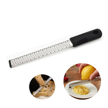 New Multifunction Stainless Steel Lemon Zester Fruit Peeler Cheese Zester Microplane Grater Fruit Vegetable Tools & Kitchen microplane тёрка premium zester grater зелёный