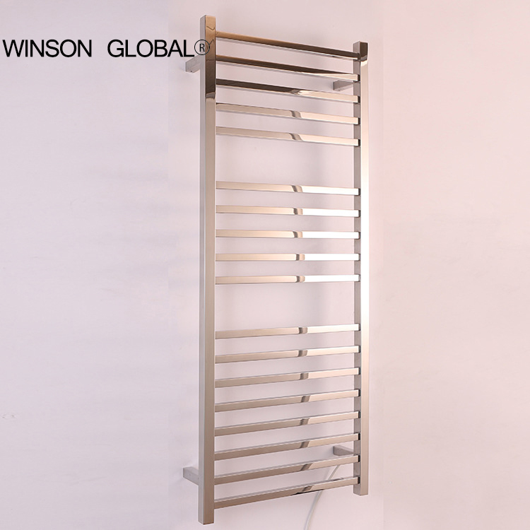 home appliance 304 stainless steel bathroom heater towel racks electric bath accessory towel holder rail decoration ICD60049 hotel decoration 304 stainless steel electric heating towel racks house furniture fitment appliance heating towel rack icd60048