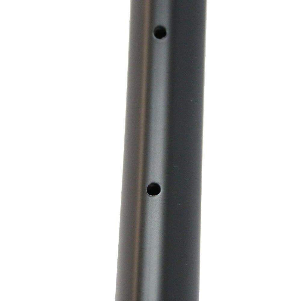 7 Tigre 27,5 ER gancho XC 29er MTB borde offset de carbono 28mm de ancho 25mm llanta de clincher profundo llantas asimétricas con agujeros de perforación 24/28/32 H - 4