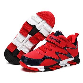 Enfants Chaussures De Basket | Bébé Sports Enfants Chaussures De Basket-ball Légères Décontracté Garçons Filles Sneaker Mode Chaussures En Cuir Pu Fond En Caoutchouc Antidérapant