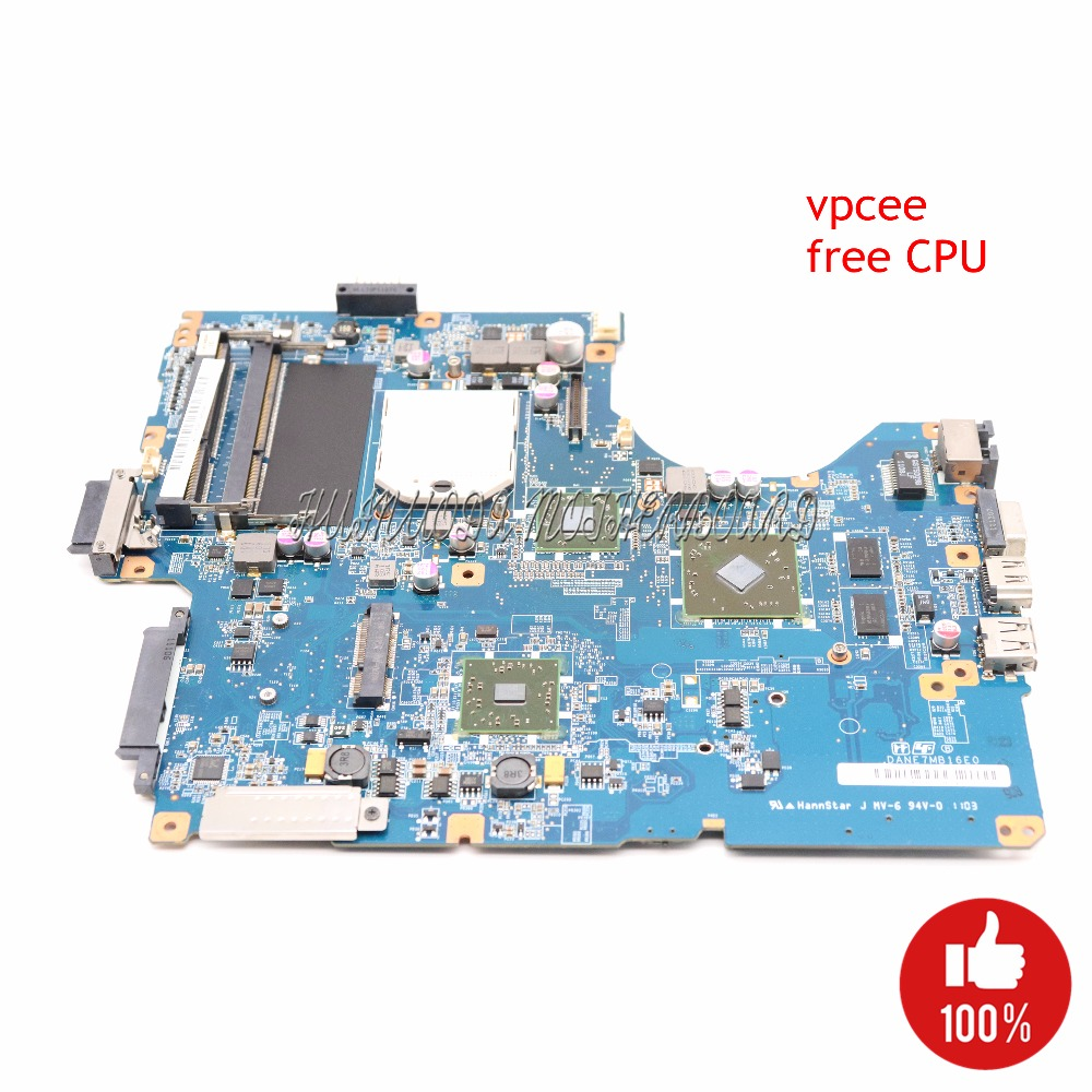 NOKOTION A1823508A DANE7MB16E0 laptop motherboard For sony vaio vpcee VPCEE17EC VPCEE27EC VPCEE37EC HD4500 DDR2 Free CPU