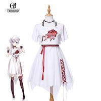 ROLECOS 2017 New Phone Game SINoALICE Cosplay Costumes Snow White Women Cosplay Costumes Casual Dress Full