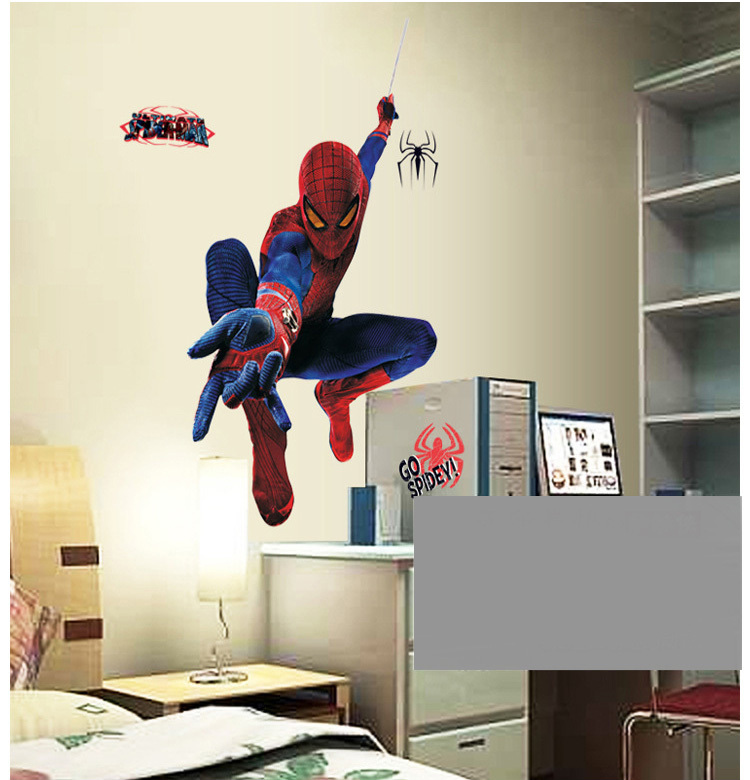 De la nueva historieta amazing spiderman h roe de grandes for Pegatinas pared ninos
