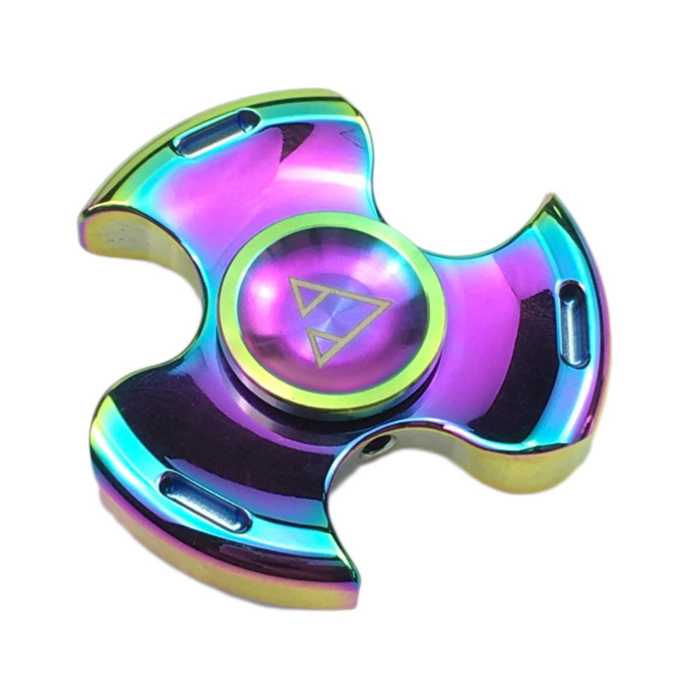 Tri Spinner Fidget Toy Plastic EDC Hand Spinner For Autism And ADHD Hand Spinner EDC Sensory