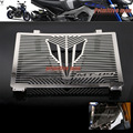 Para yamaha mt 09 mt-09 tracer 2015 accesorios de motos radiador guardia protector de la cubierta