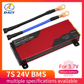 Daly 3.7V 7s 24V Li-ion Bms 29.4v Lithium Battery Bms Charging Voltage 29.4v 80A 100A 150A 200a Bms Pcm for lithium battery pack фото