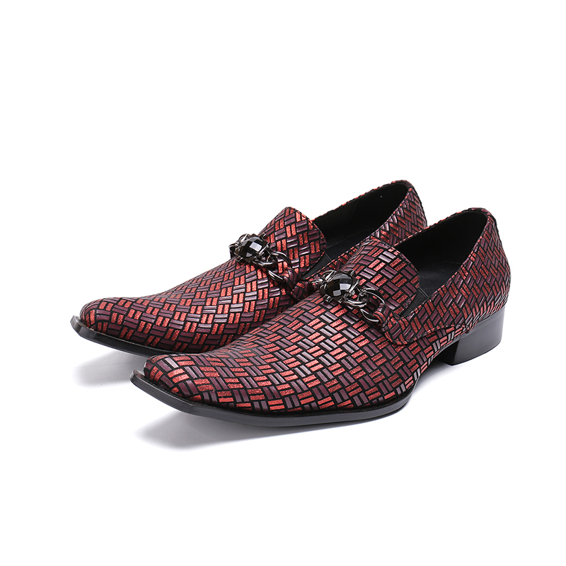 Handmade Classic Braided Genuine Leather Formal Mens Dress Shoes Luxury Red Wedding Shoes Men Elegant Flats Office For MaleHandmade Classic Braided Genuine Leather Formal Mens Dress Shoes Luxury Red Wedding Shoes Men Elegant Flats Office For Male