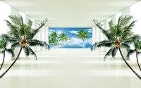 3D Murals Wallpaper For Living Room Bedroom Nature Scenery Wall Wallpaper Extend Space Tv Background Wallpaper