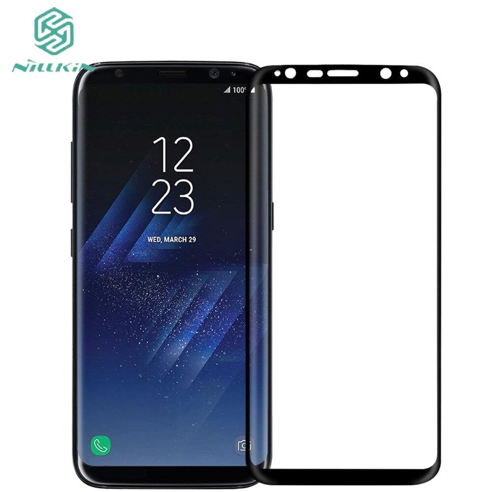imágenes para NILLKIN 3D CP + MAX Vidrio Templado Para Samsung Galaxy S8 Pelicula de Vidro película Protector de Pantalla Para Samsung Galaxy S8 Más película