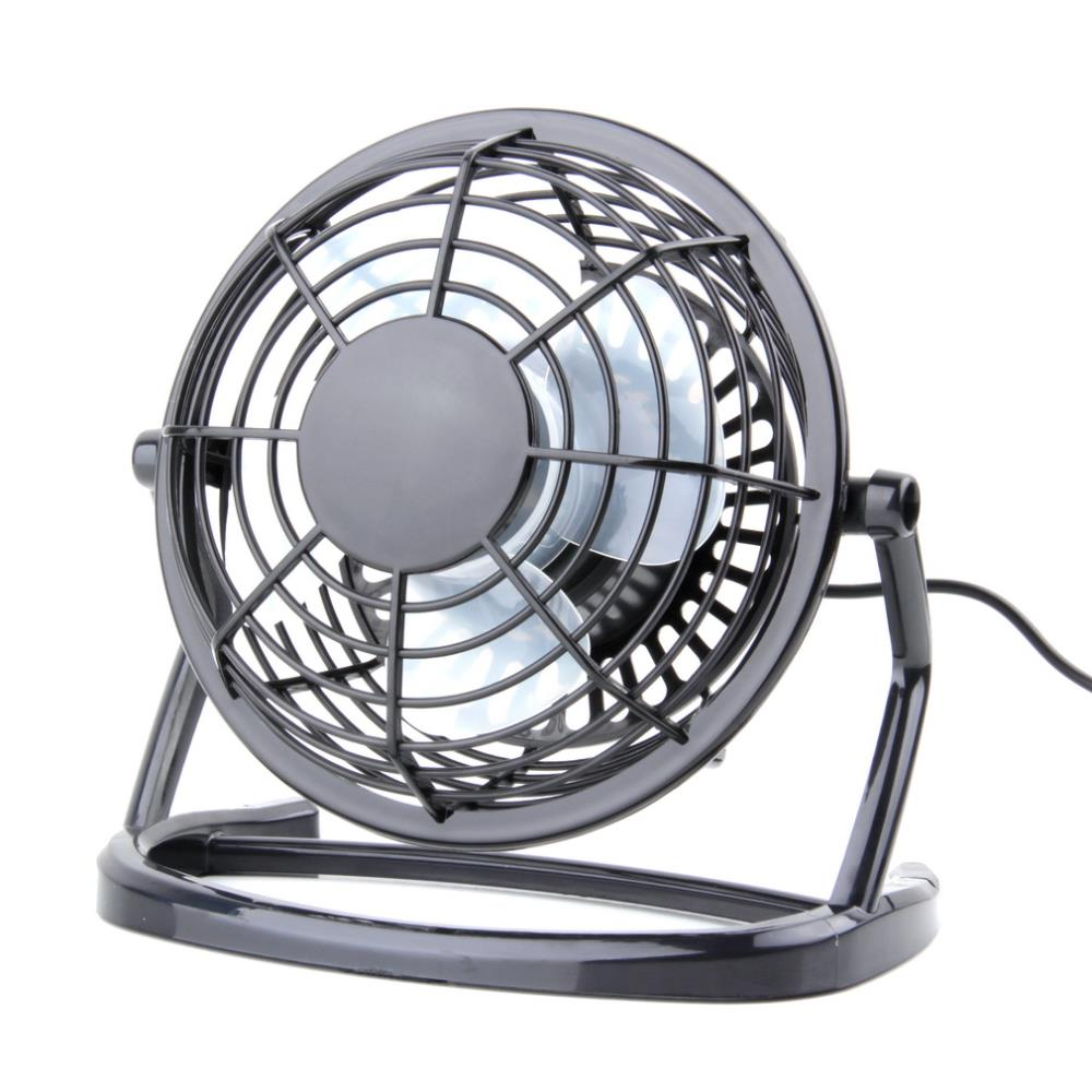 Small Dc Fans : Portable dc v small desk usb blades cooler cooling fan