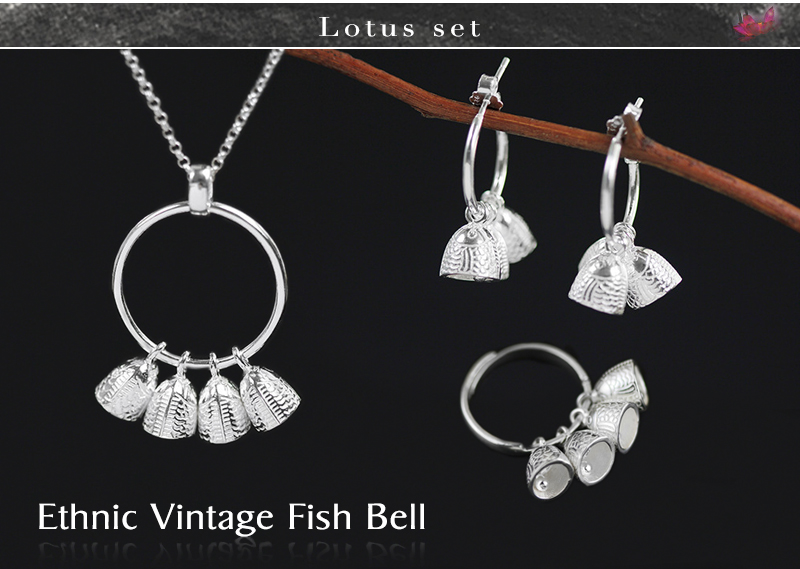 Ethnic Vintage Fish Bell